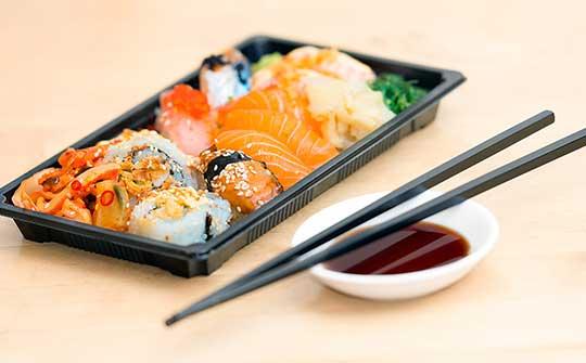 sushi - plat préféré de Mathieu Charlebois